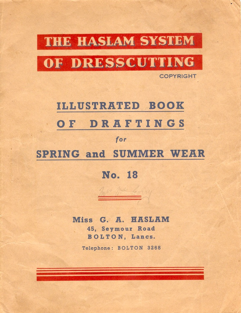 Haslam System of Dresscutting Spring and Summer Wear No. 18