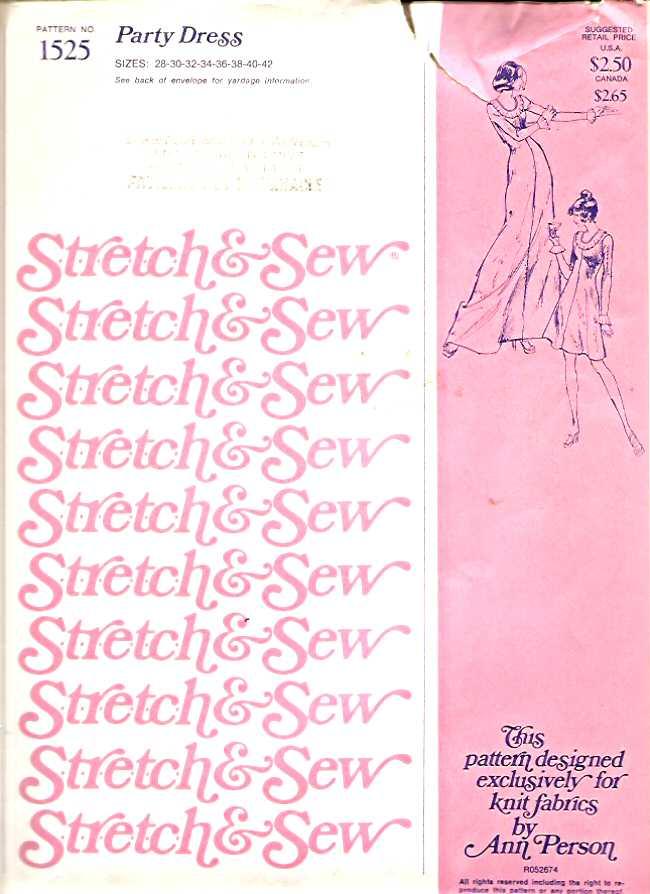 Stretch & Sew 1525