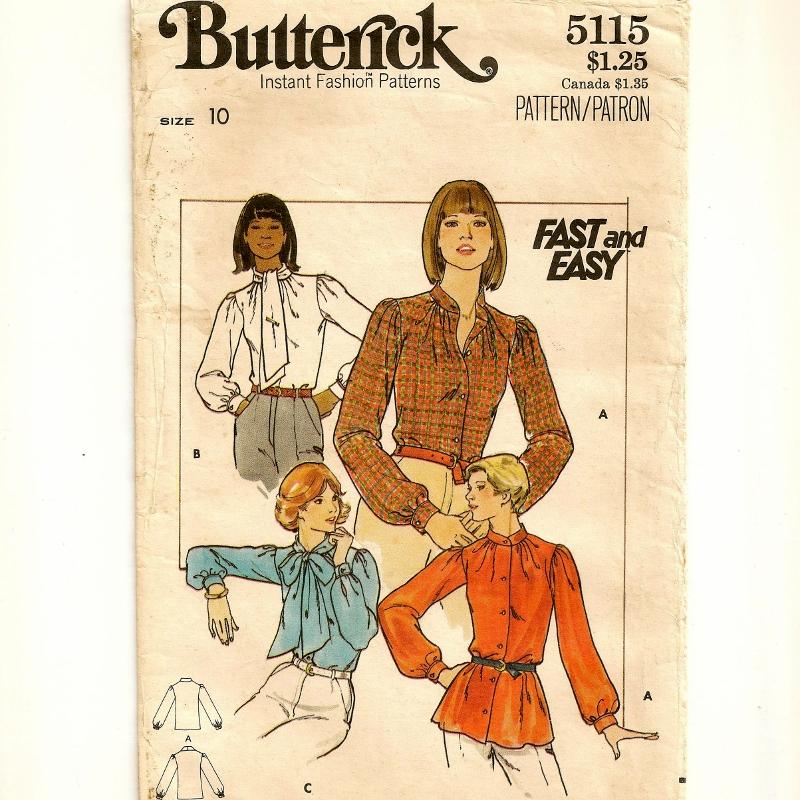 Butterick 5115 B