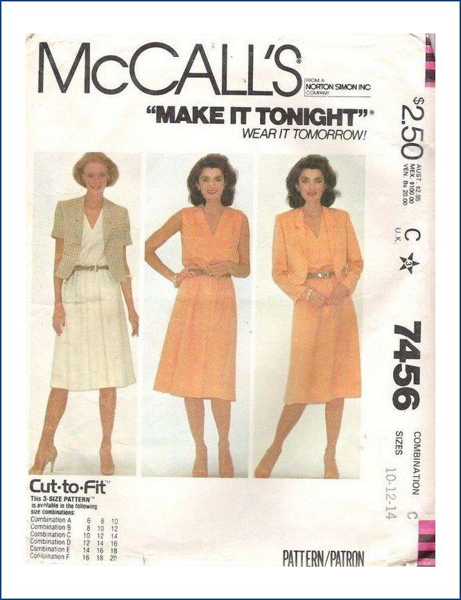 McCall's 7456