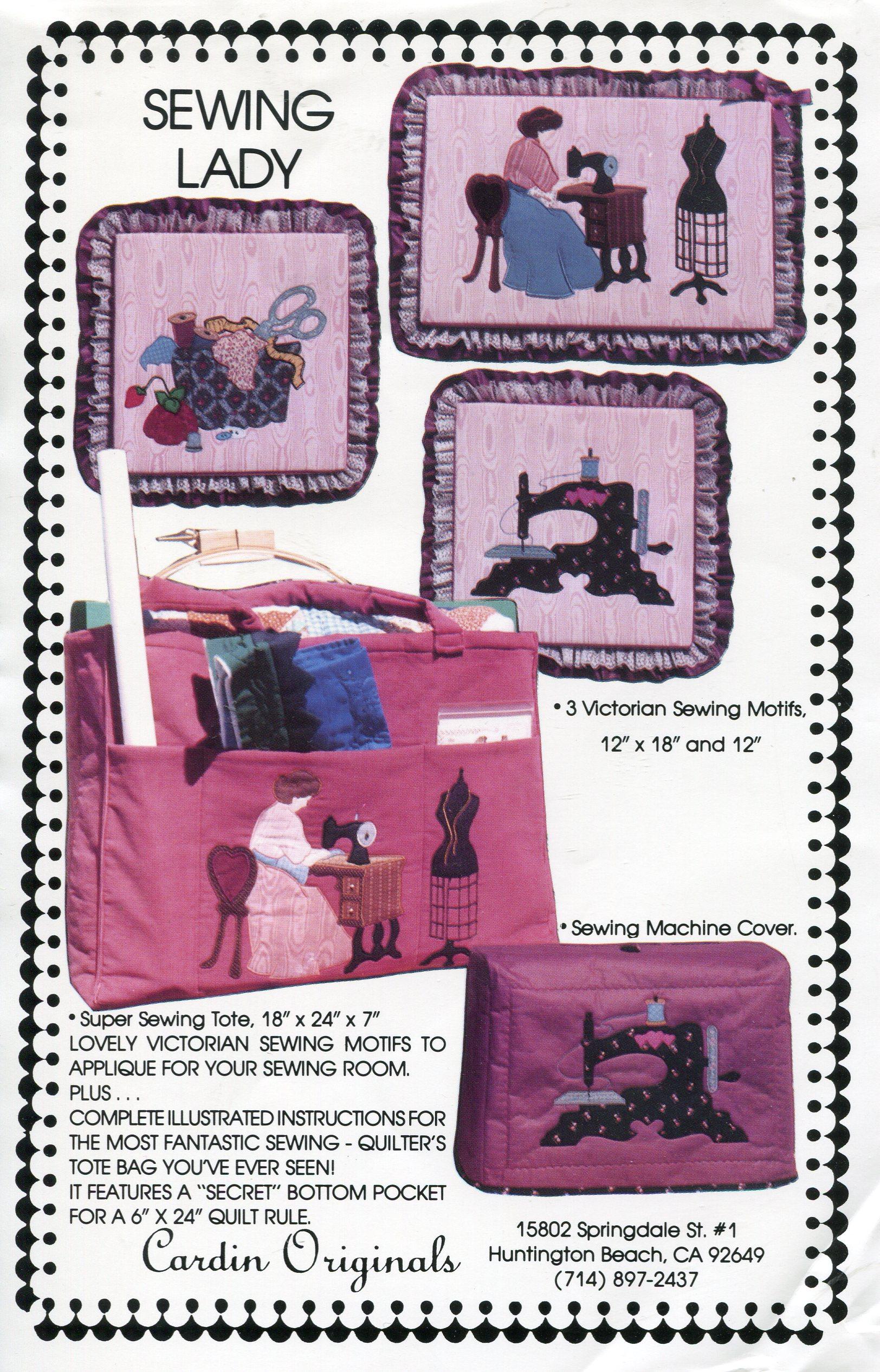 Cardin Originals Sewing Lady