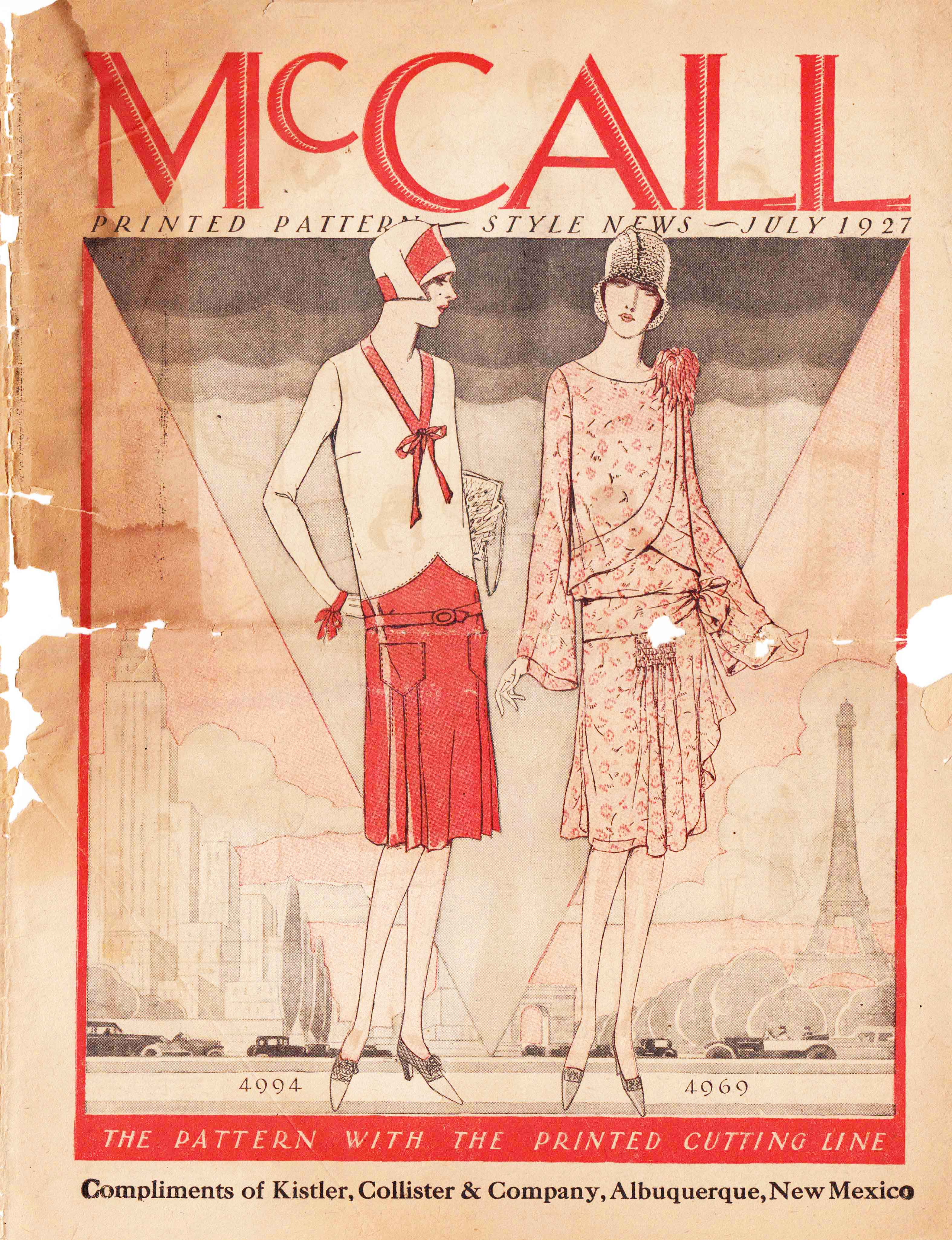 McCall Style News July 1927