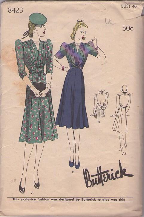 Butterick 8423 A