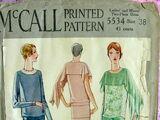 McCall 5534 A