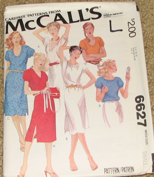 McCall's 6627