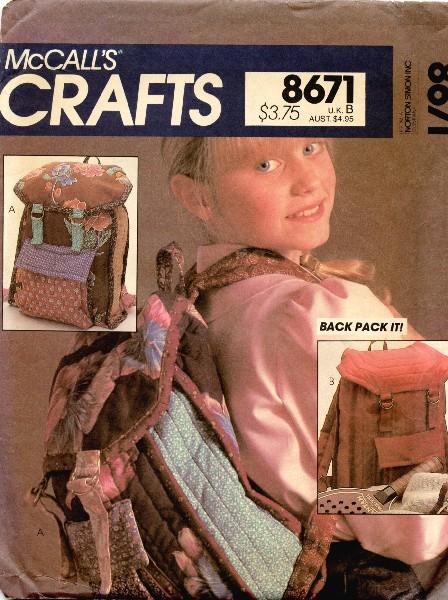 McCall's 8671 A