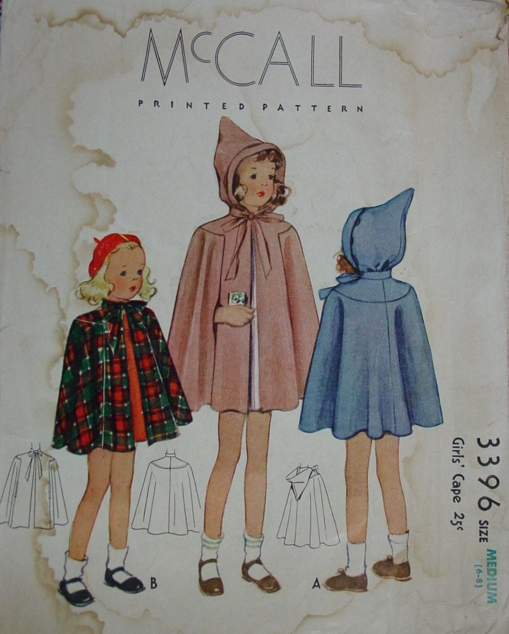 McCall 3396