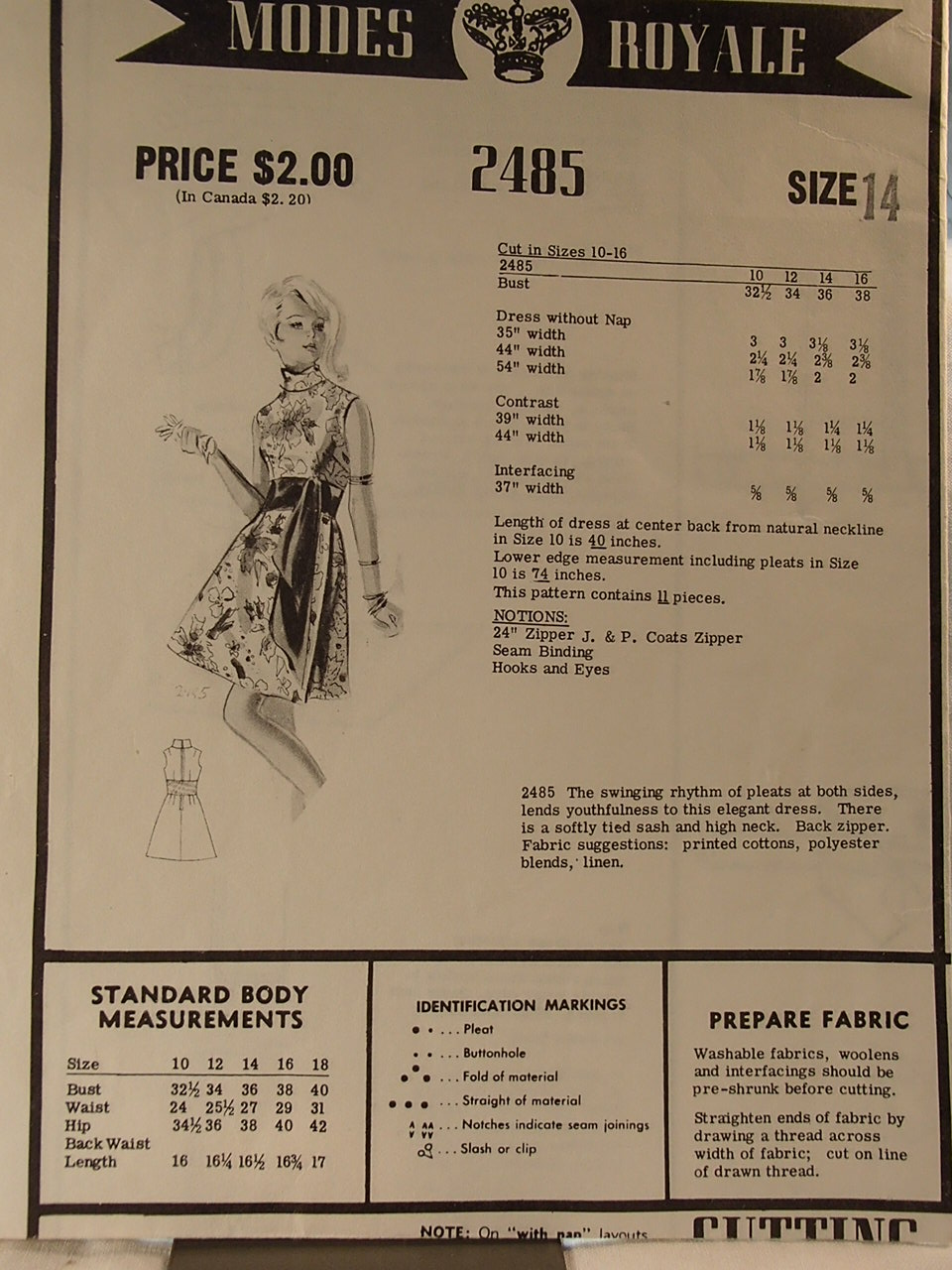 Modes Royale 2485