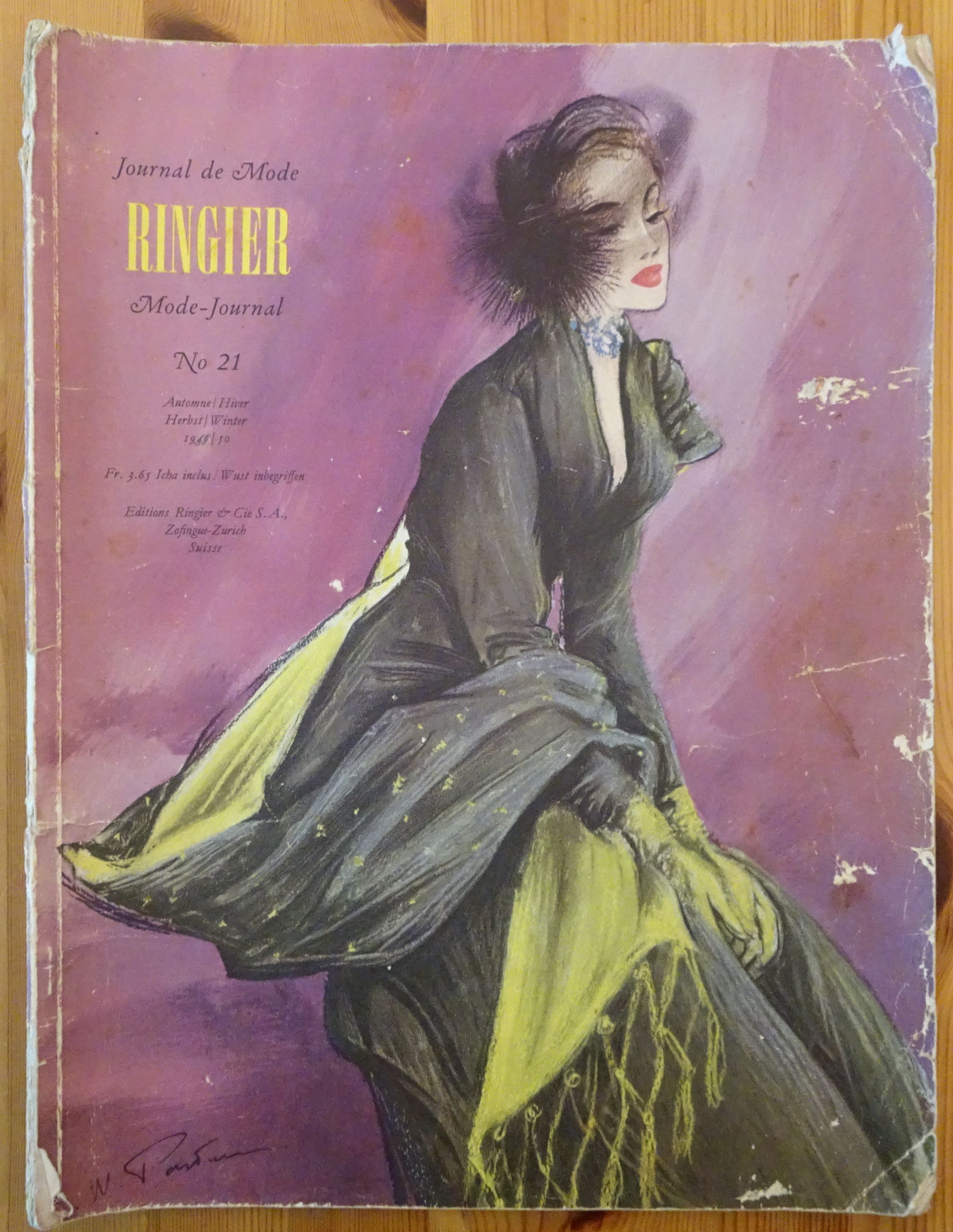 Ringier Journal de Mode Autumn/Winter 1949/50
