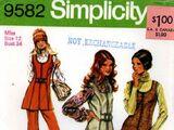 Simplicity 9582