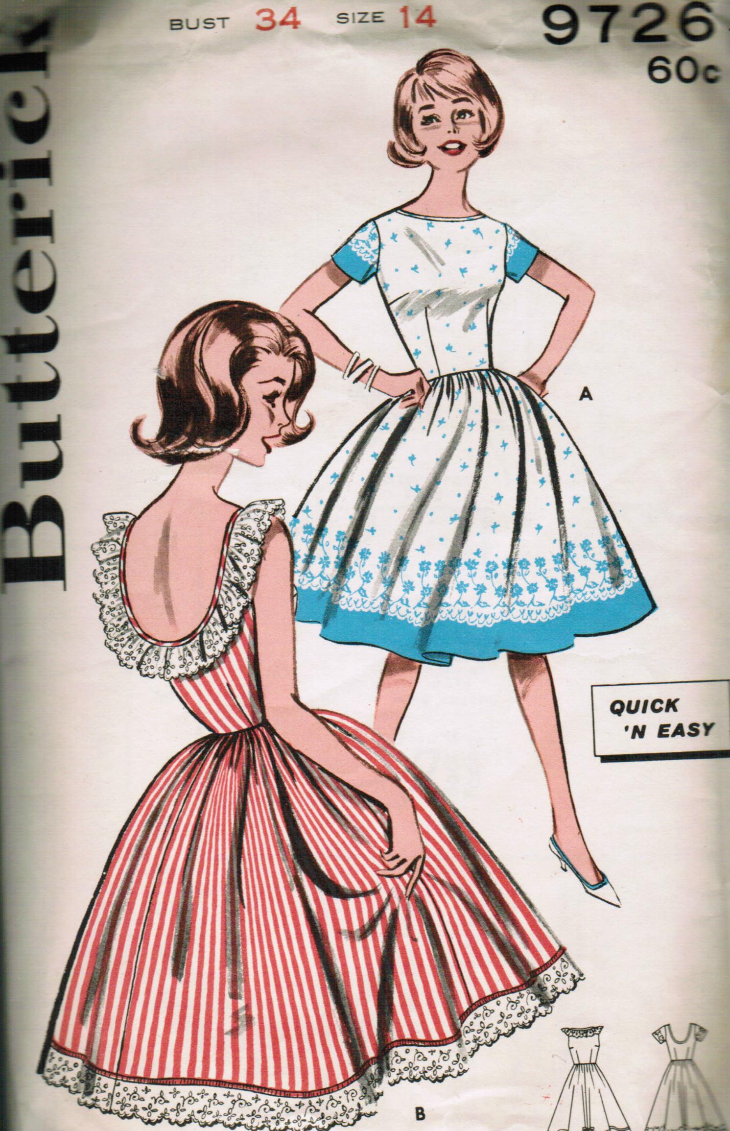 Butterick 9726