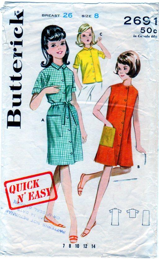 Butterick 2691