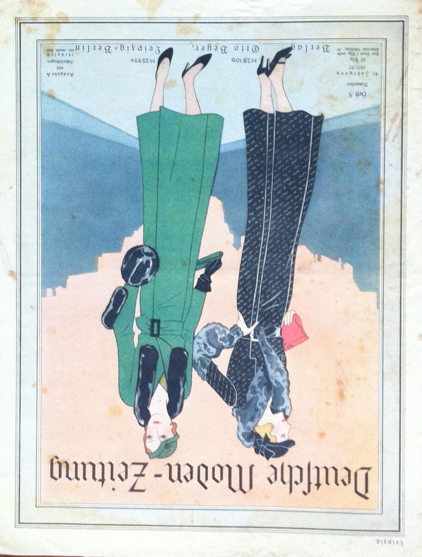 Deutsche Moden-Zeitung No. 5 Vol. 41 1931/32