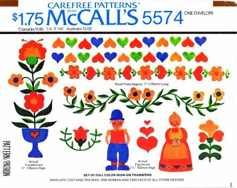 McCall's 5574 A