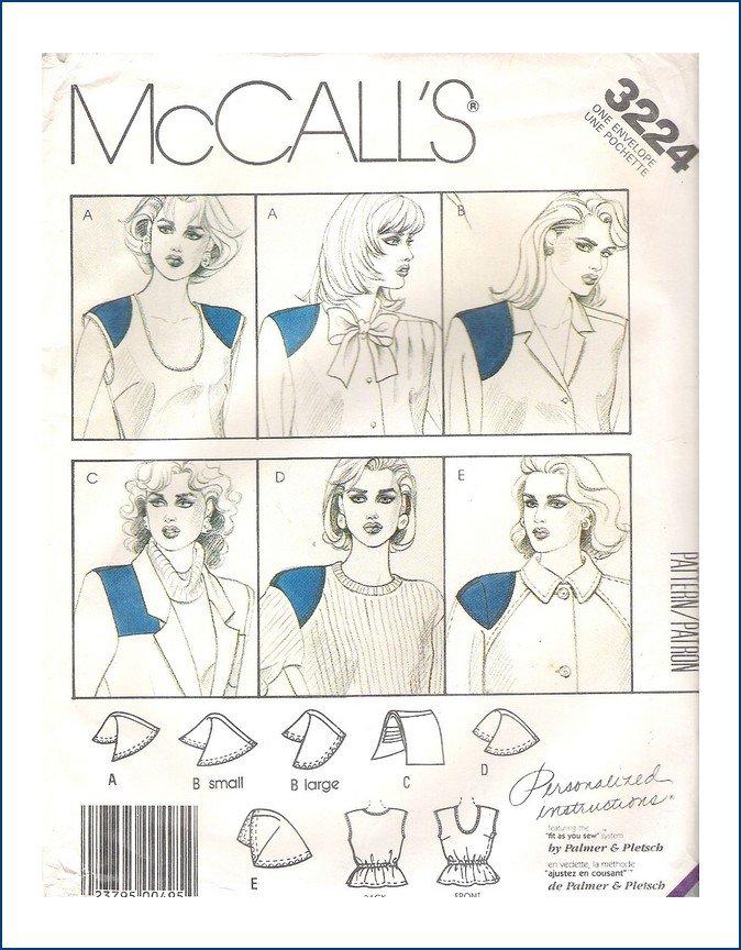 McCall's 3224 A