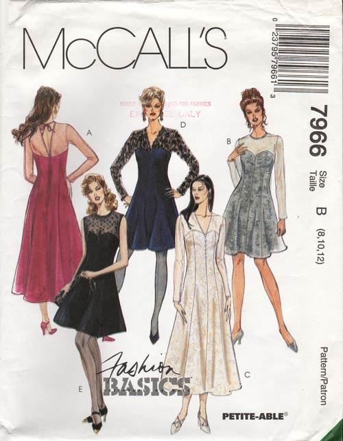 McCall's 7966 A