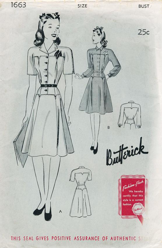 Butterick 1663