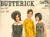 Butterick 3679 A