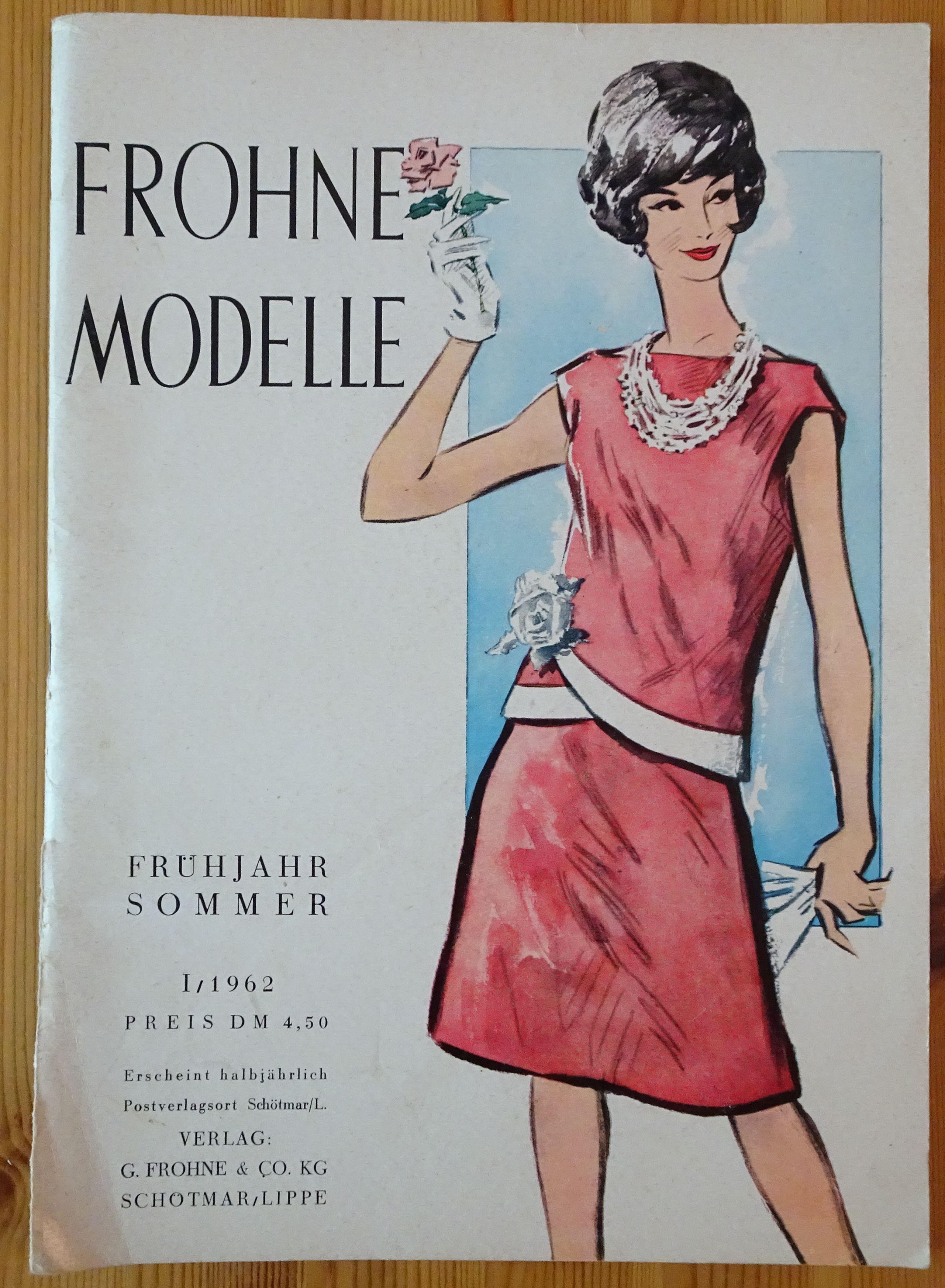 Frohne Modelle 1/1962