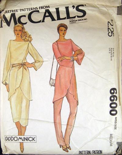 McCall's 6600