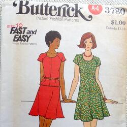 Butterick 3780