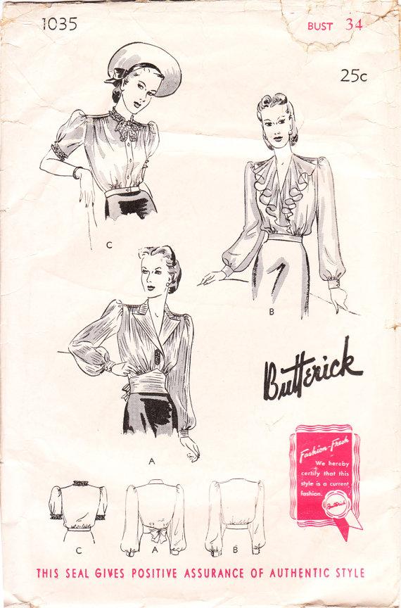 Butterick 1035