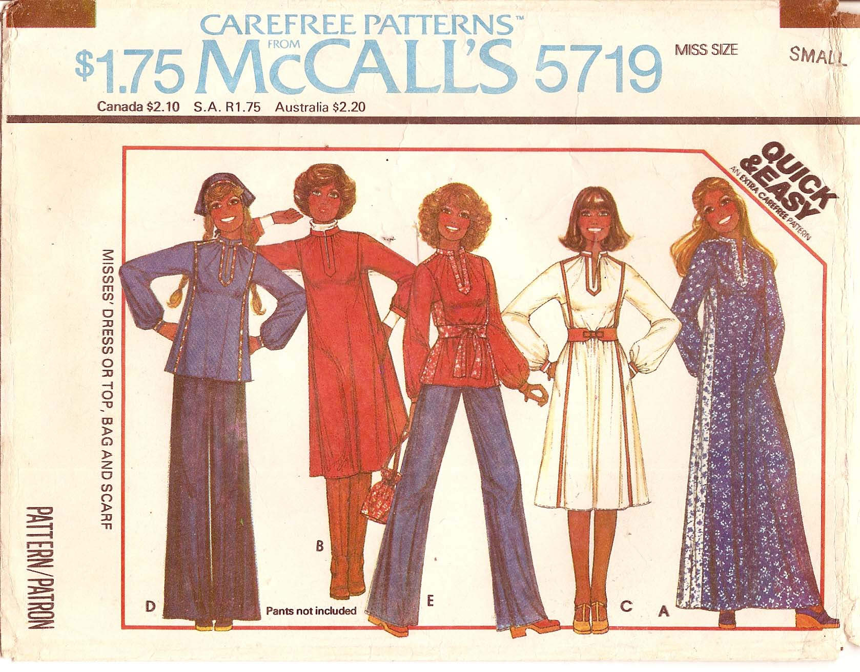 McCall's 5719