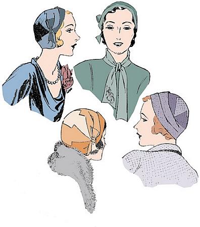 Pictorial Review Paris Hat