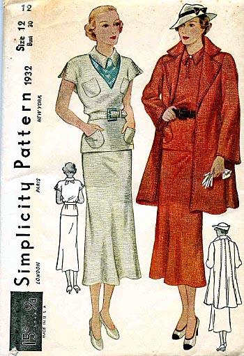 Simplicity 1932