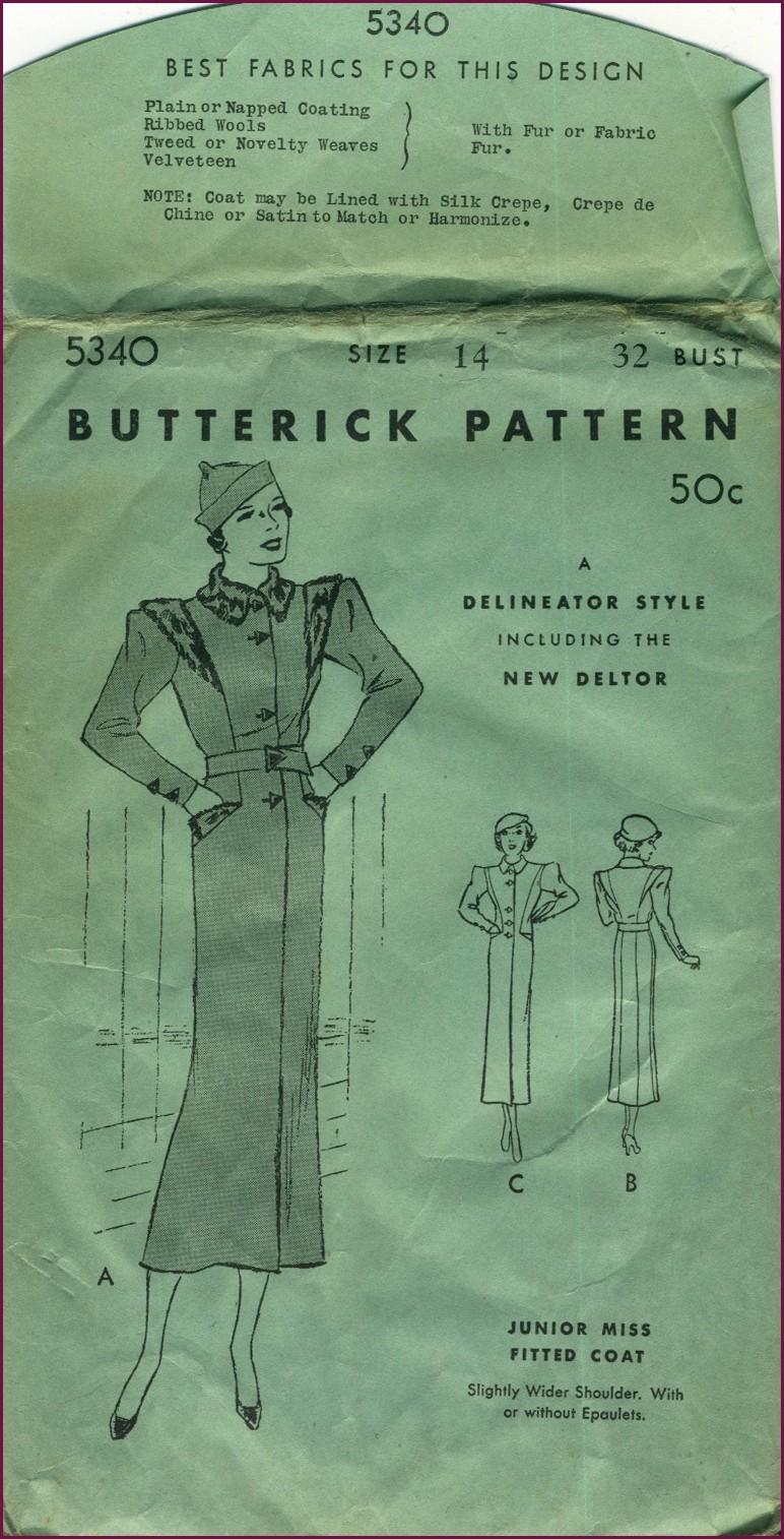 Butterick 5340