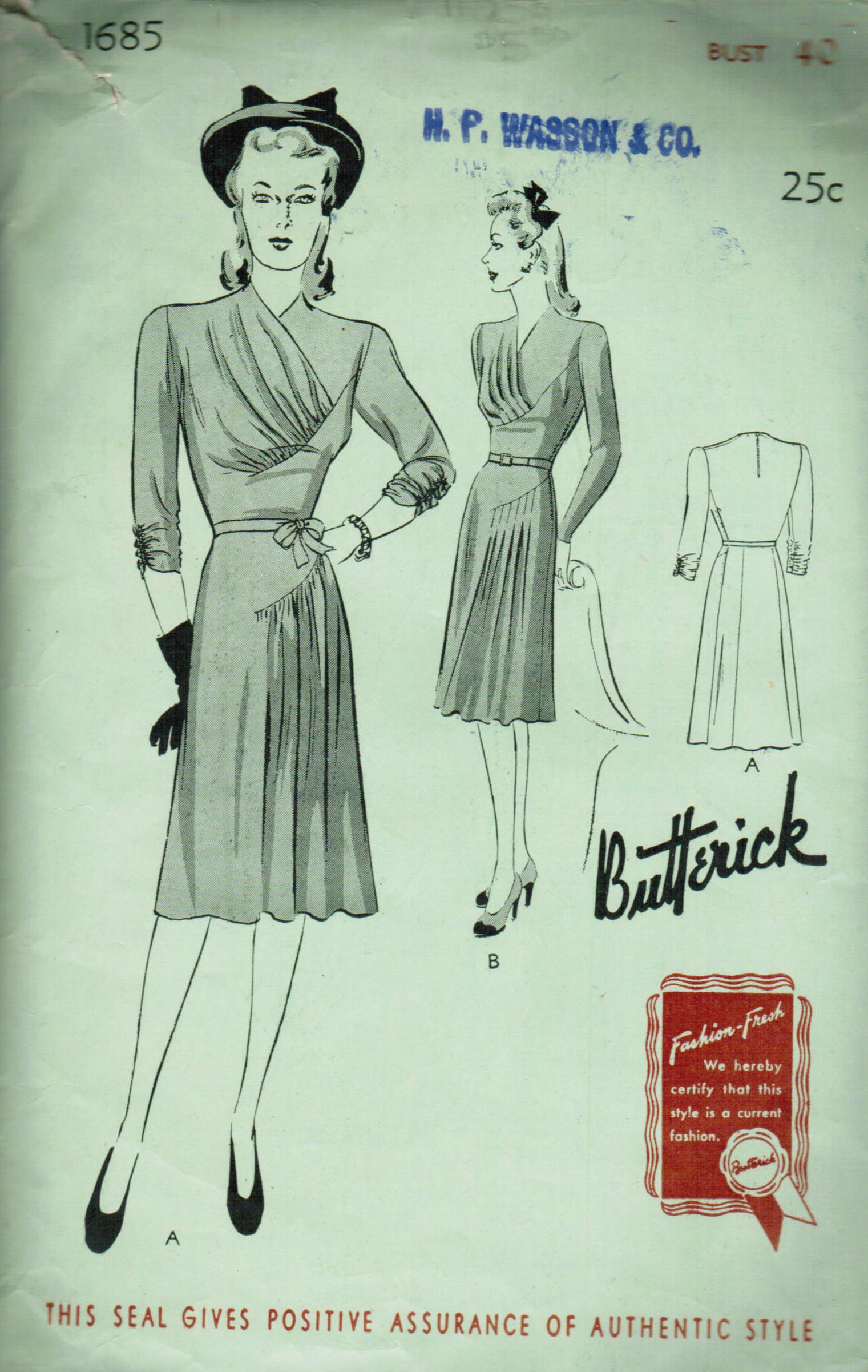 Butterick 1685