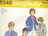 Simplicity 5548