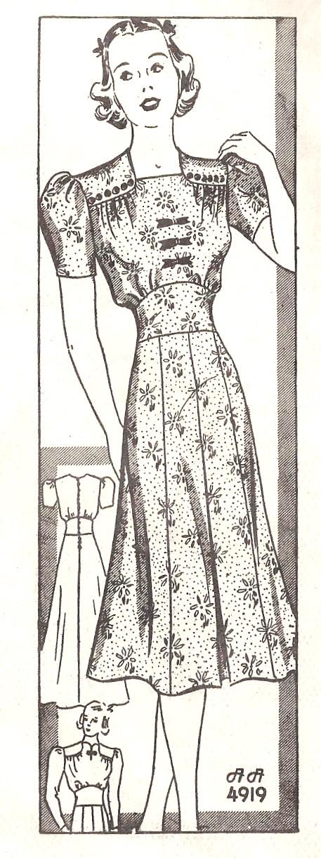 Anne Adams 4919 A