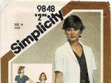Simplicity 9848 C
