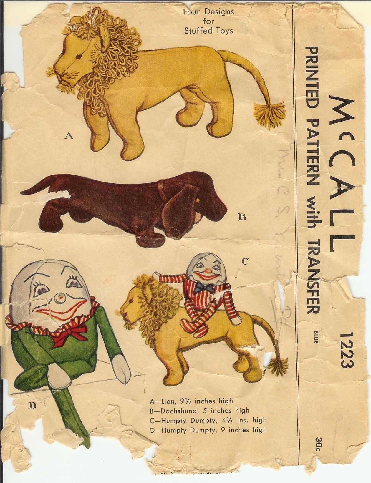 McCall 1223