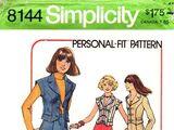 Simplicity 8144 A