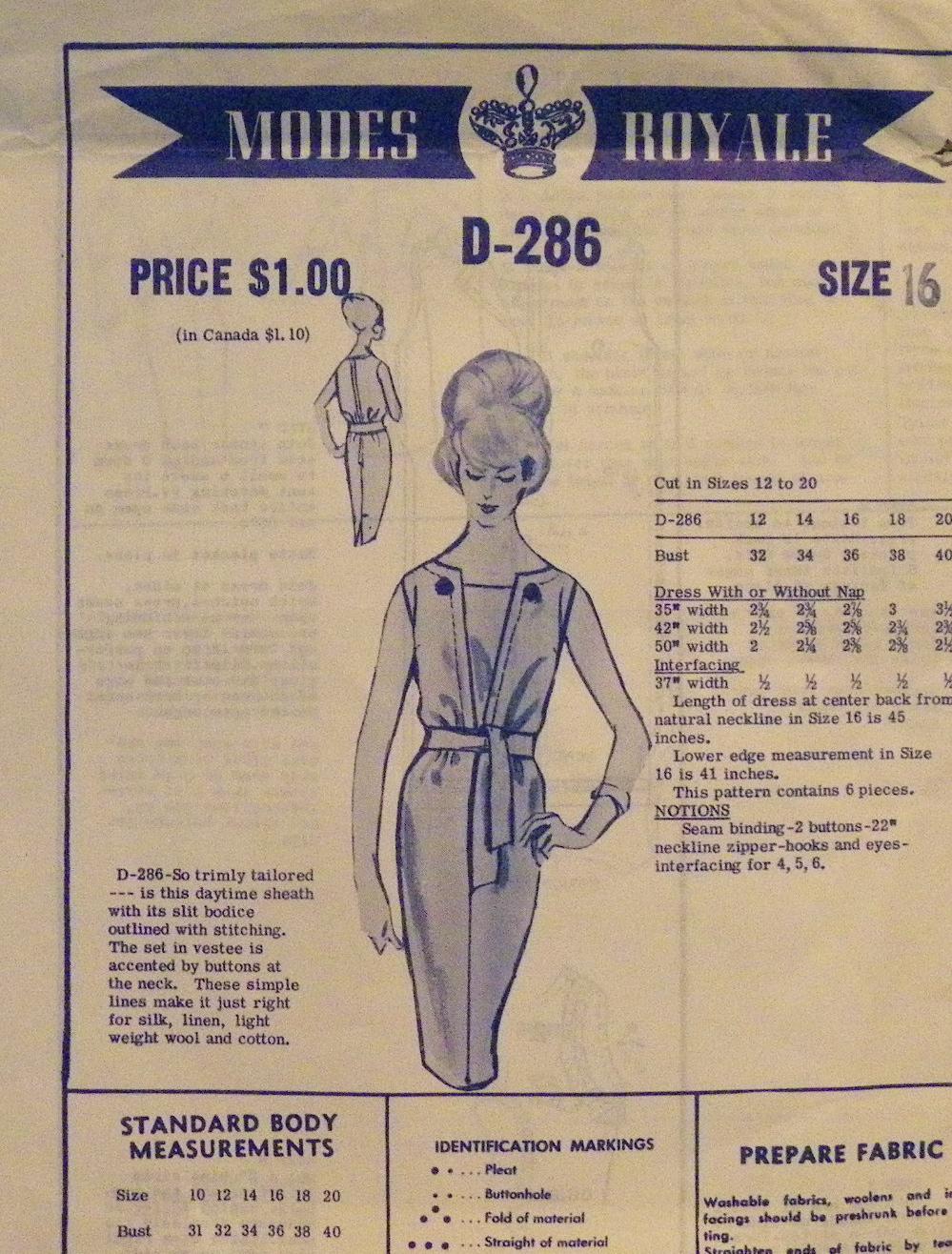 Modes Royale D-286