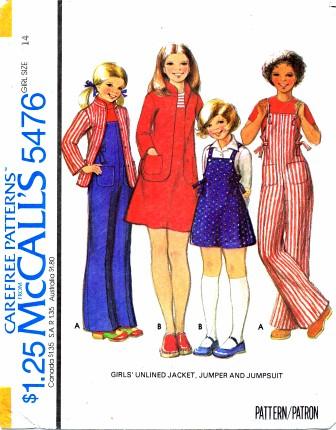 McCall's 5476