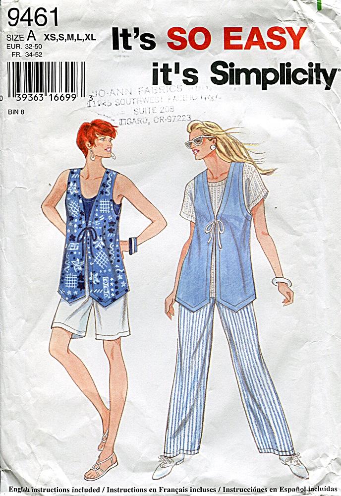 Simplicity 9461 B