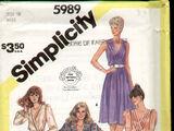 Simplicity 5989 B