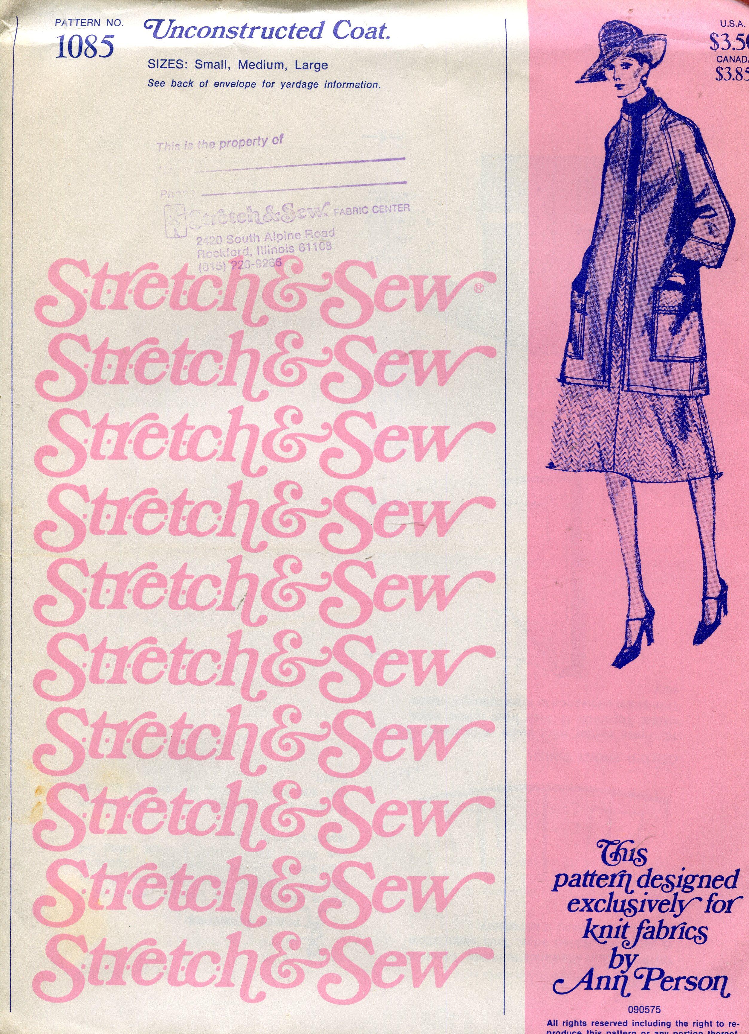 Stretch & Sew 1085