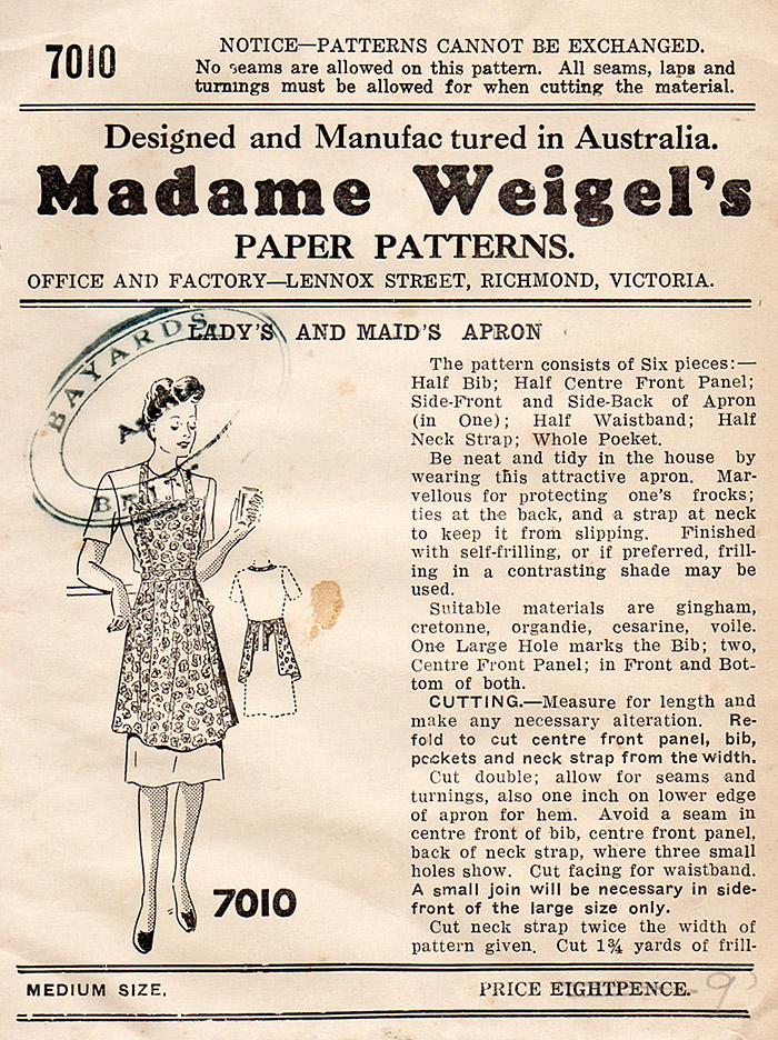 Madame Weigel's 7010