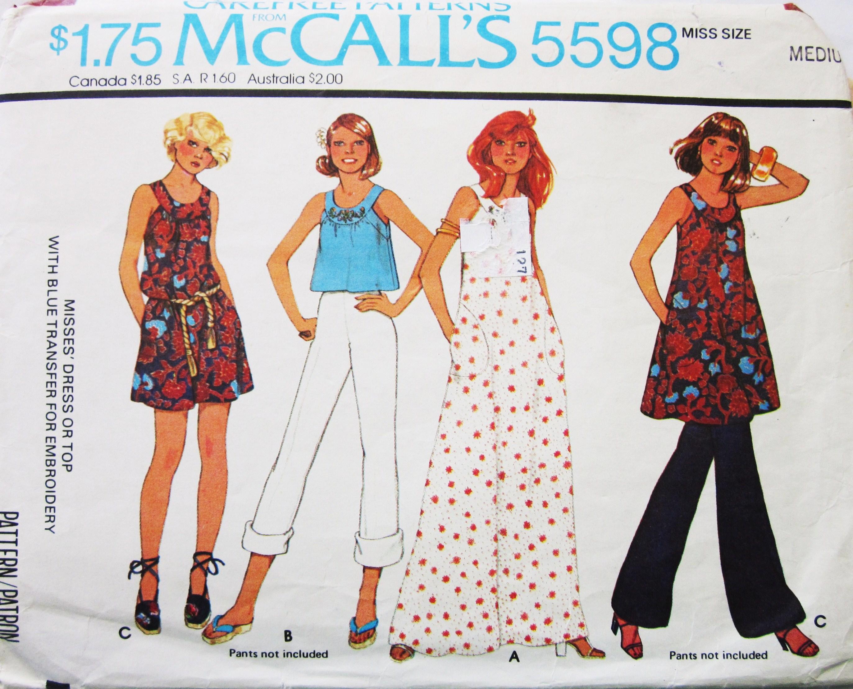McCall's 5598 A