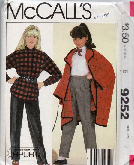 McCall's 9252