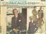 McCall's 5743