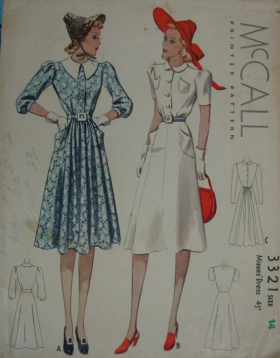 McCall 3321
