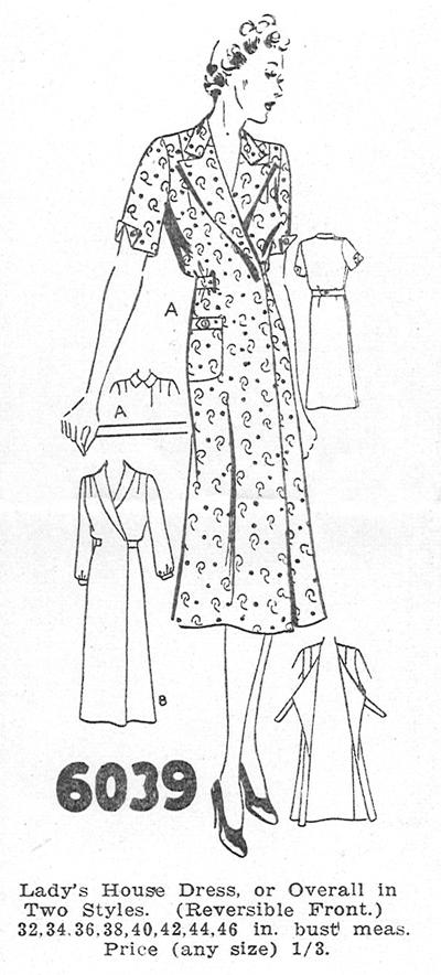 Madame Weigel's 6039