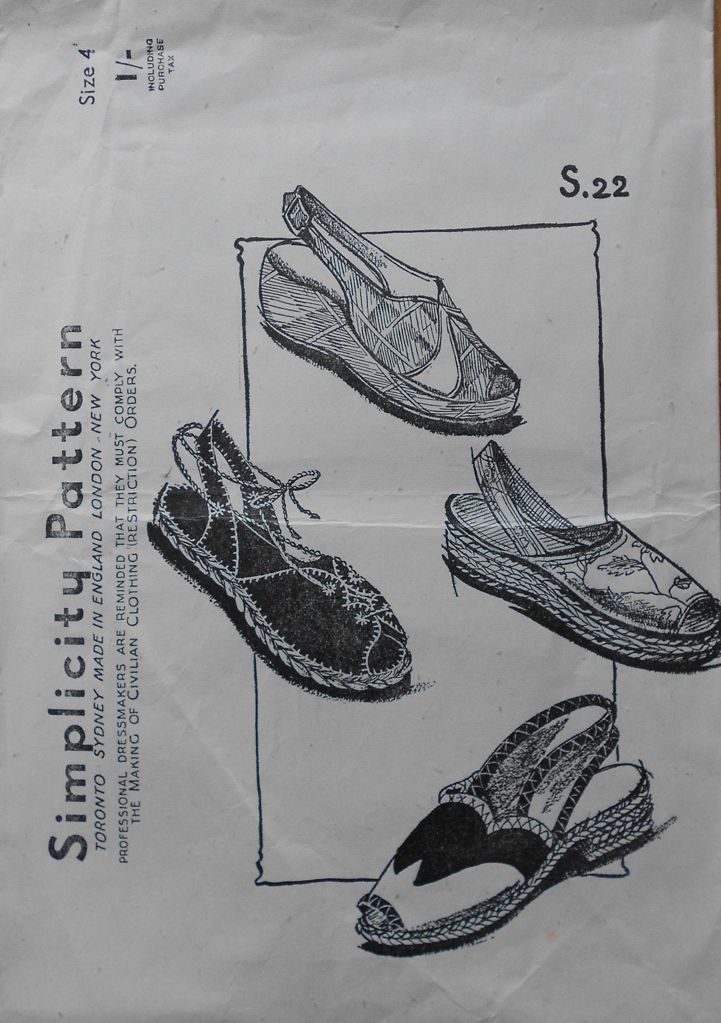 Simplicity S.22