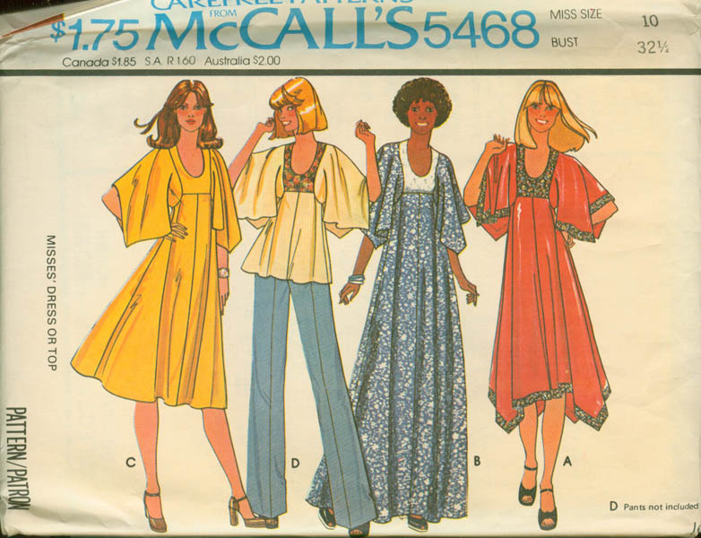 McCall's 5468 A