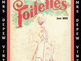 Toilettes Magazine June 1899
